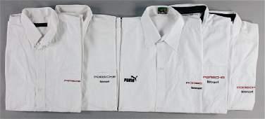 PORSCHE Porsche motor sport 5 shirts with size XL