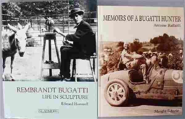 """BUGATTI 2 books, No. 1: """"Rembrandt Bugatti Life in"""