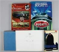 """BUGATTI Books mixed lot, consist of """"the Bugatti book"""