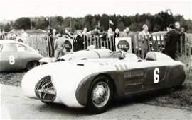 VERITAS Original B/W photo Veritas RS, races Sweden