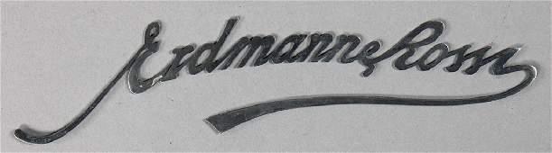 ERDMANN & ROSSI Logo for affixing at the car body,