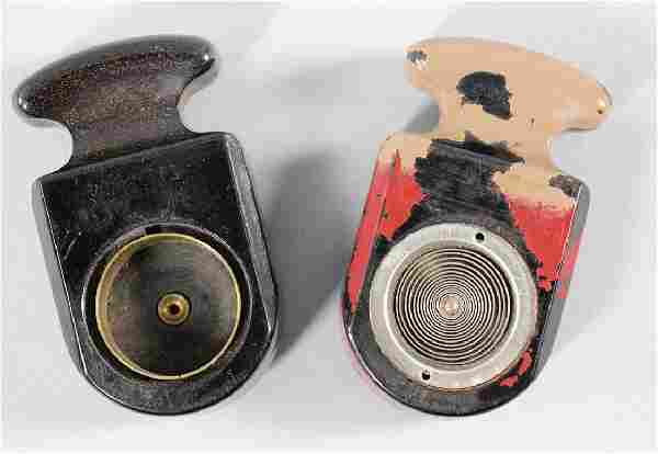 ERDMANN & ROSSI Mixed lot with 2 cigar lighters for