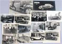 ERDMANN & ROSSI Mixed lot with 14 original photos of