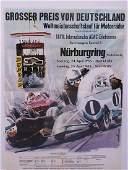 Poster Grand Prix of Germany Nürburgring, world