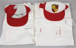 PORSCHE Mixed lot with 5 pieces consist of 2 Porsche