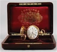 LONGINESGIUSEPPE CAMPARI pocket watch 18 carat gold