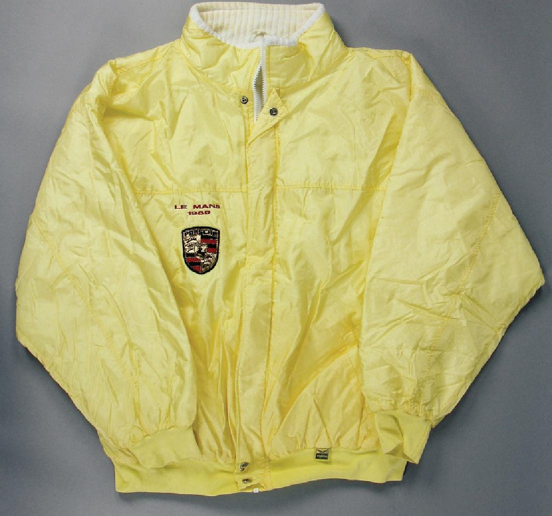 PORSCHE between-seasons jacket color: yellow, with