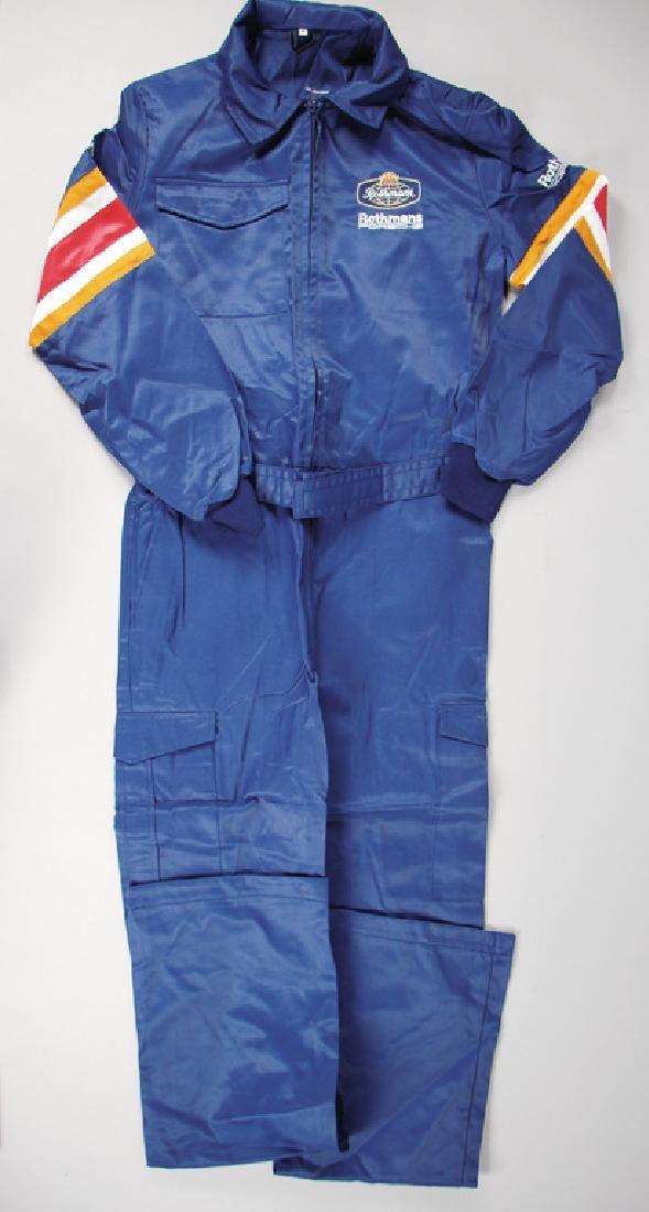PORSCHE/ROTHMANS mechanic-overall, color: dark-blue,