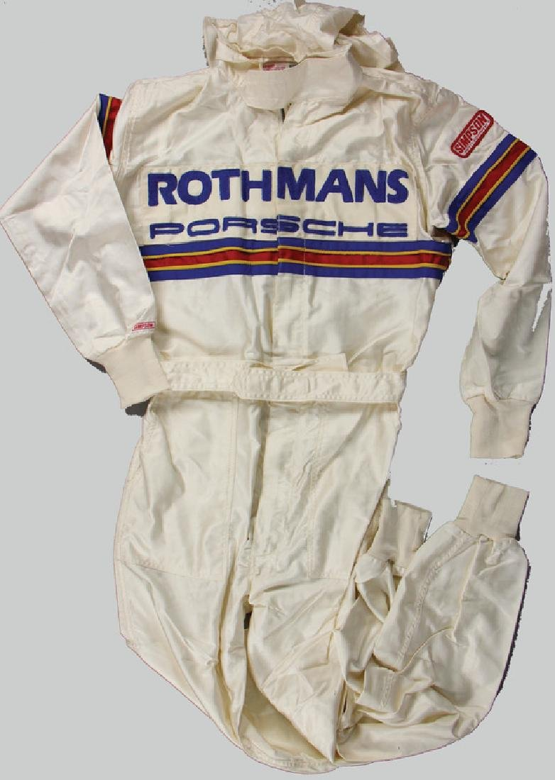 PORSCHE/ROTHMANS racing mechanic jumpsuit, color: