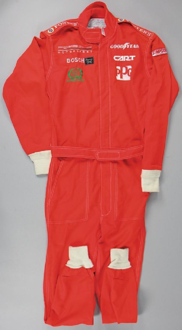 PORSCHE mechanic jumpsuit, Indy Car series 1989 with