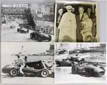 GRAND PRIX MONACO 1957, among it 2 photos accident