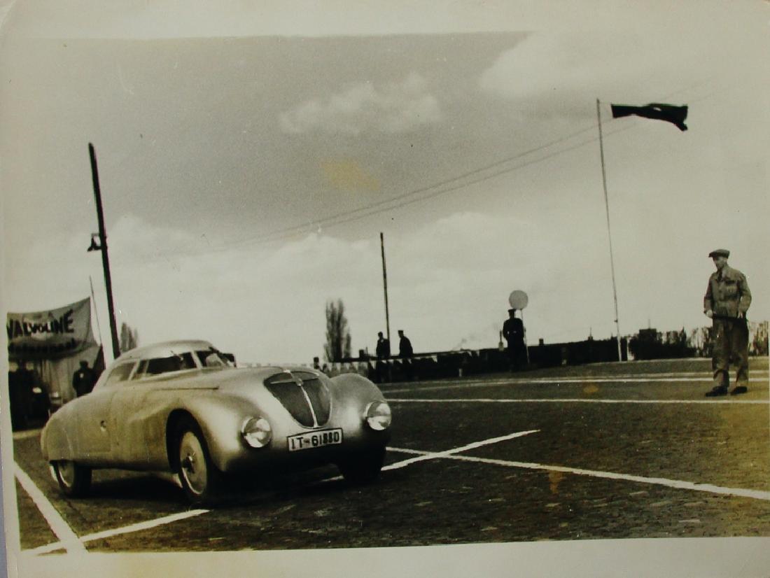 ADLER Germany 1936, original large-format B/W photo of