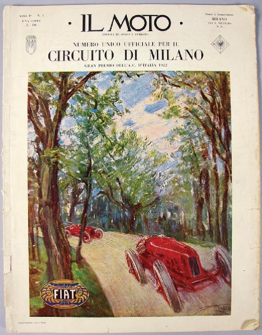 """magazine """"Il Moto"""", special issue Circuito di Milano"""