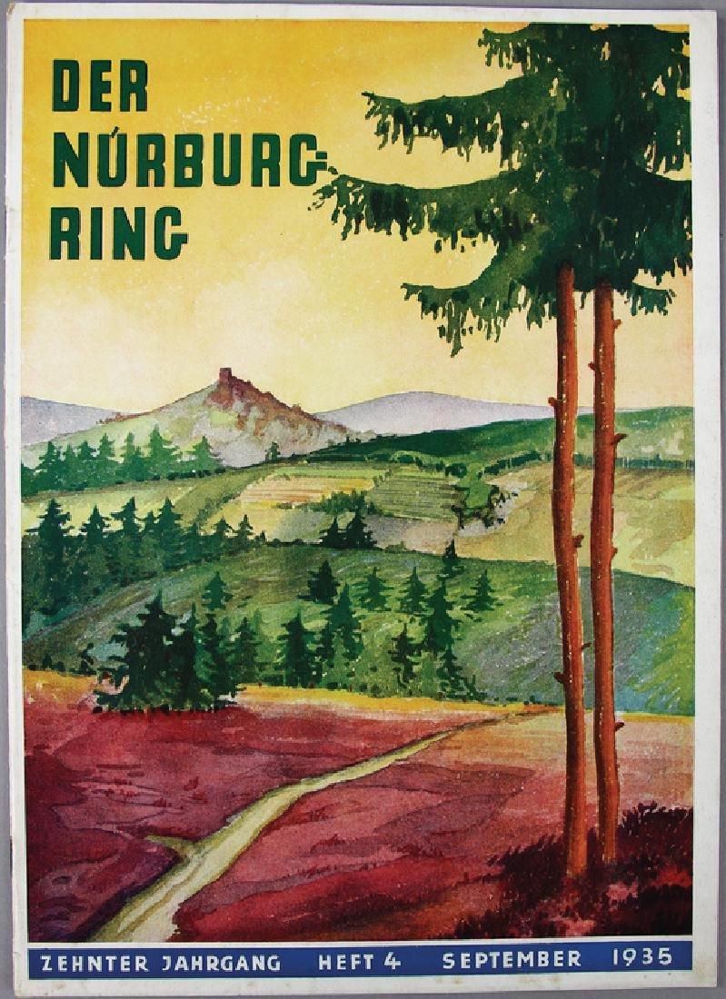 """magazine """"Der Nürburgring"""", issue No. 4, September"""