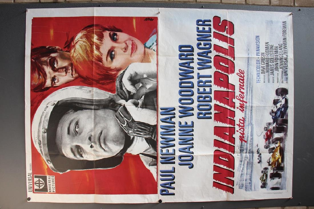"INDIANAPOLIS film poster ""Indianapolis Pista Infernale"" - 2"
