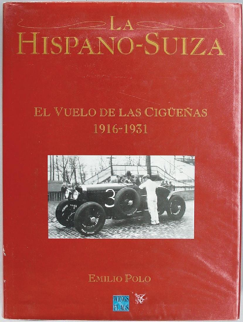 """book """"La Hispano Suiza 1916 - 1931"""" by Emilio Polo, in"""