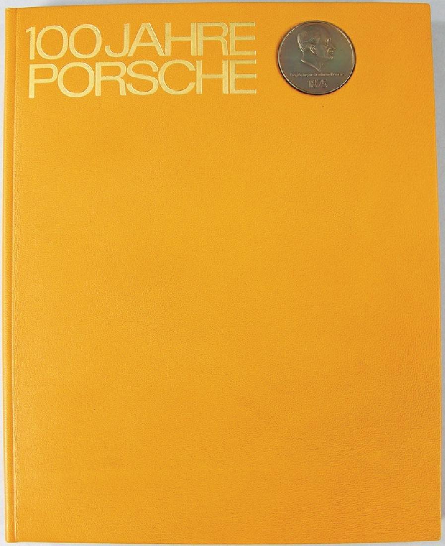 """PORSCHE book limited to 80 copies """"100 Jahre Porsche"""","""