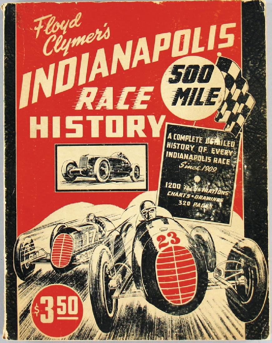 """book """"Floyd Clymer?s Indianapolis 500 Miles Race"""