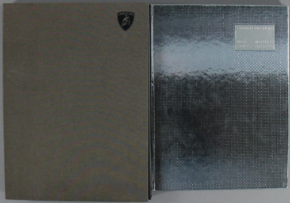 "catalog book ""Lamborghini Murcielago"" limited edition"