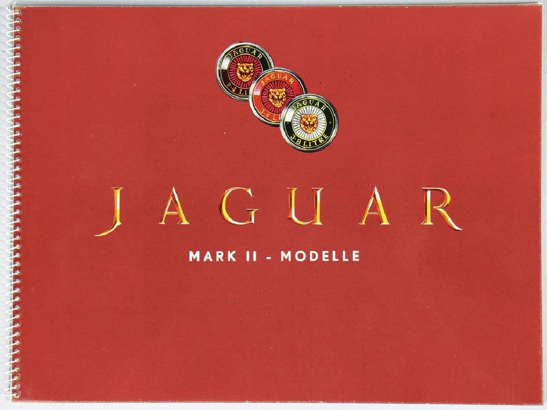 JAGUAR ring binder/sales brochure Mark II for the model