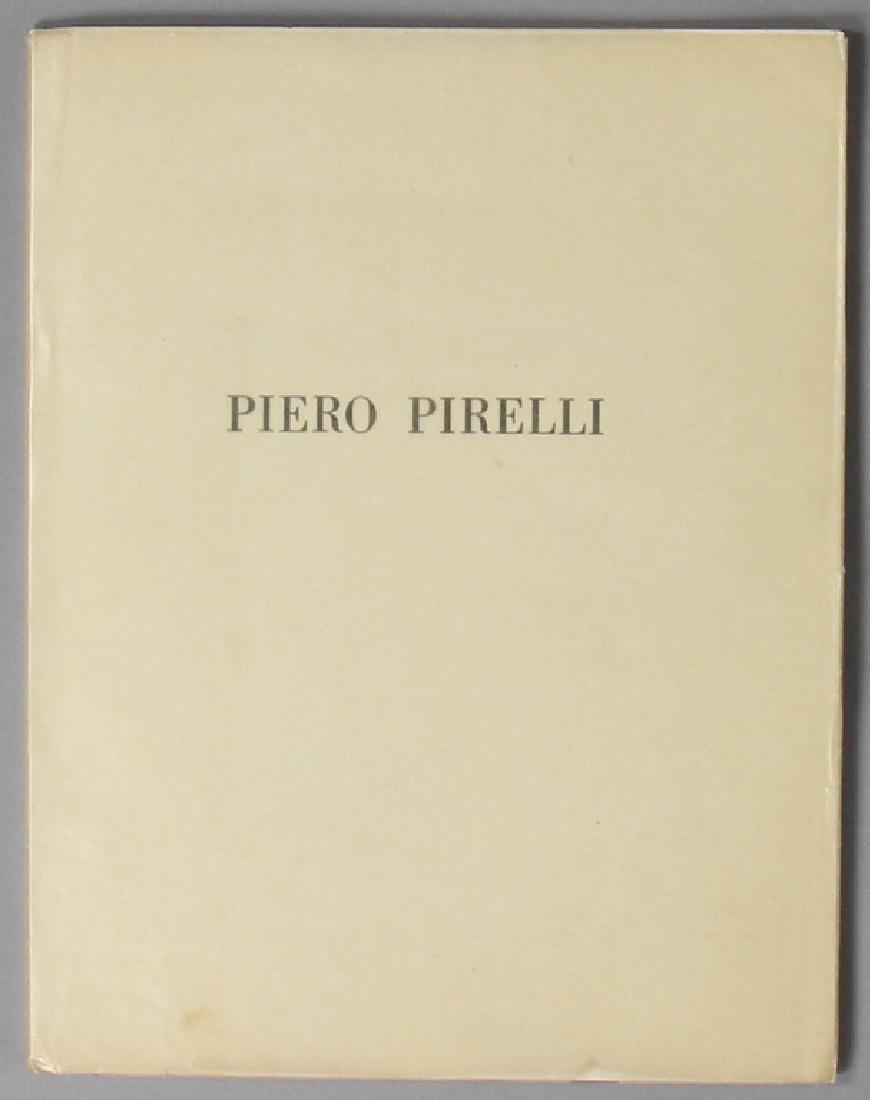"book ""Piero Pirelli"", 1956, 46 pages, good condition"