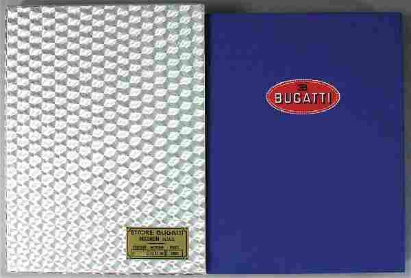 "BUGATTI book ""Bugatti"" bound edition from January 1989"