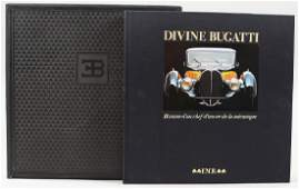 """BUGATTI book """"Divine Bugatti Histoire d?un Chef"""