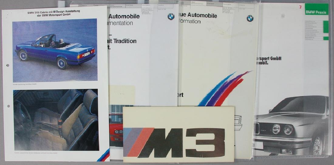 BMW mixed lot with 5 pieces, among it a original BMW M3