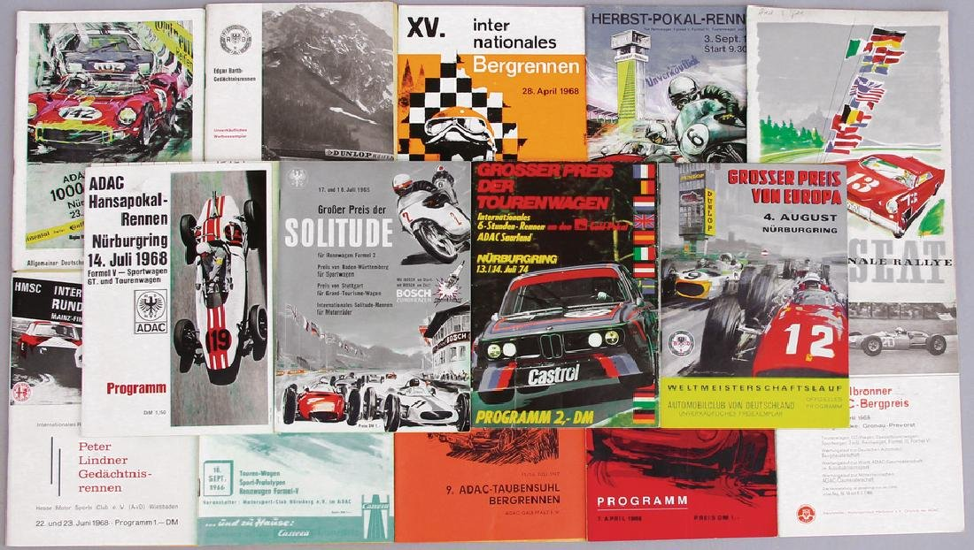 """mixed lot of programmes, among it """"Internationale"""