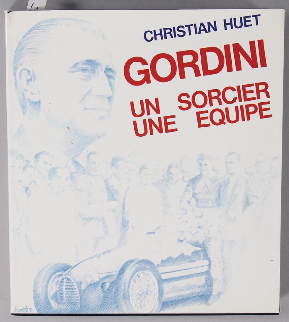 """book """"Gordini un Sorcier une Equipe"""" by Christian"""
