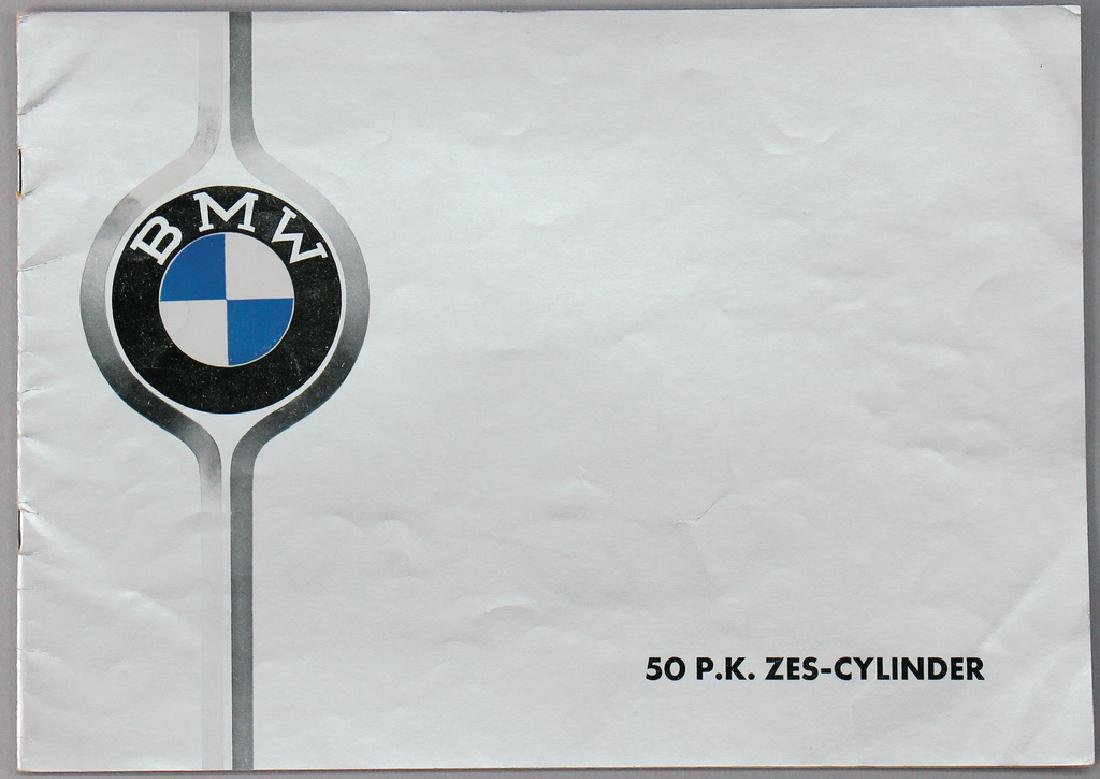 BMW sales brochure BMW 326 six-cylinder from 1937, 20