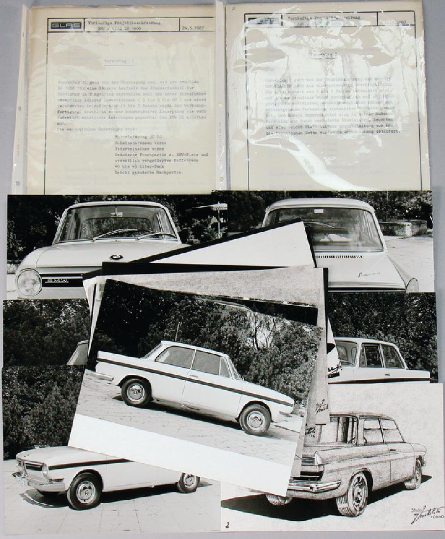 BMW/GLASS Germany 1967, provisional project description