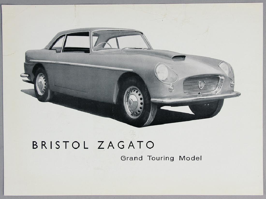 BRISTOL flyer Bristol Zagato, printed on both sides ,