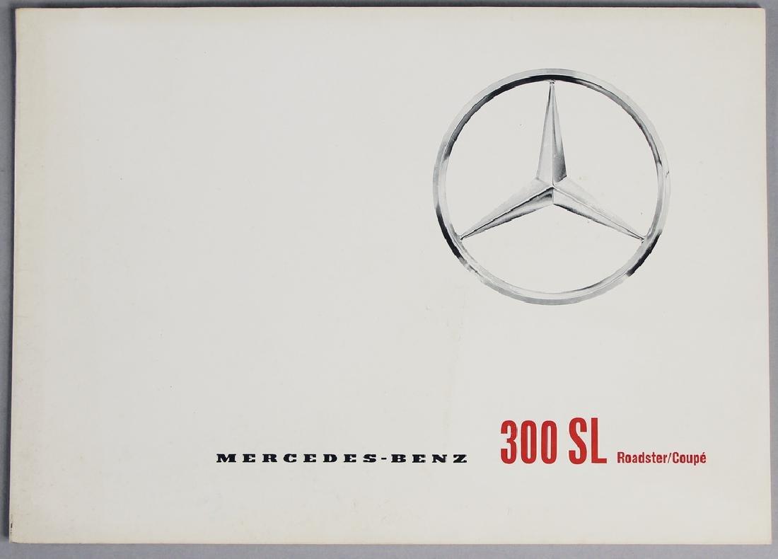 MERCEDES-BENZ sales catalog Mercedes-Benz type 300 SL