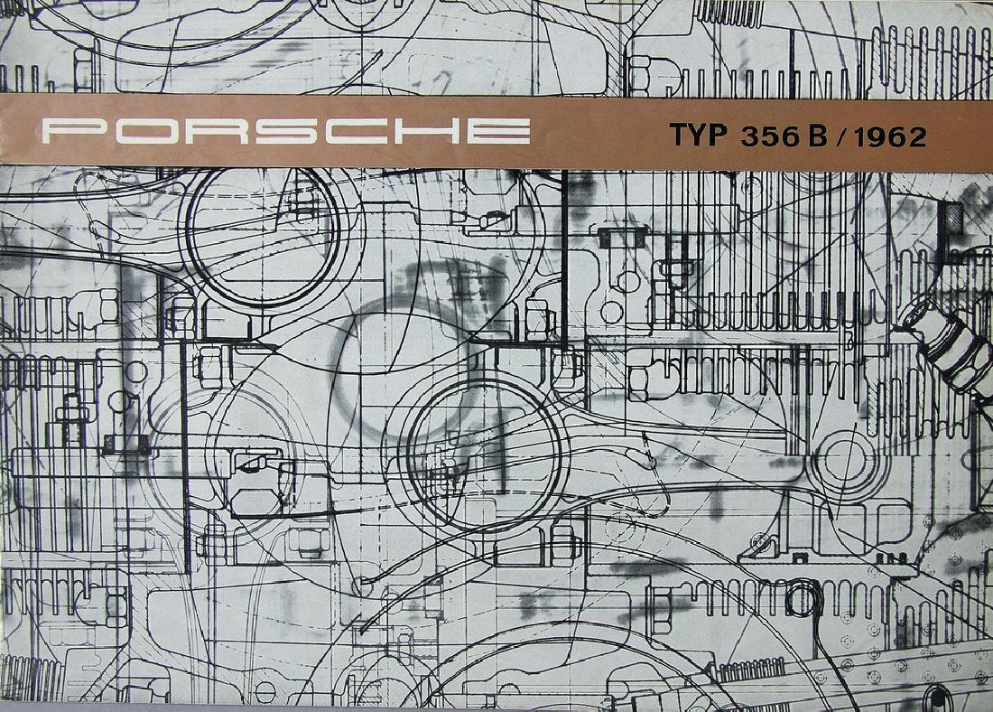 PORSCHE sales brochure type 356 B 1962 (W22), German
