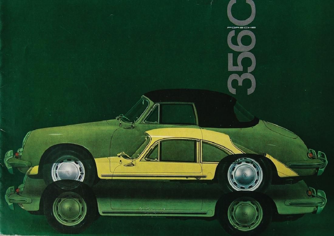 PORSCHE Germany 1964 (W22), sales catalog Porsche 356