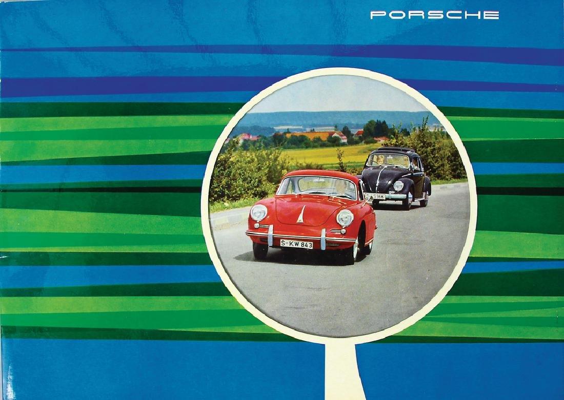 PORSCHE Germany 1962 (W21), sales catalog Porsche 356 B
