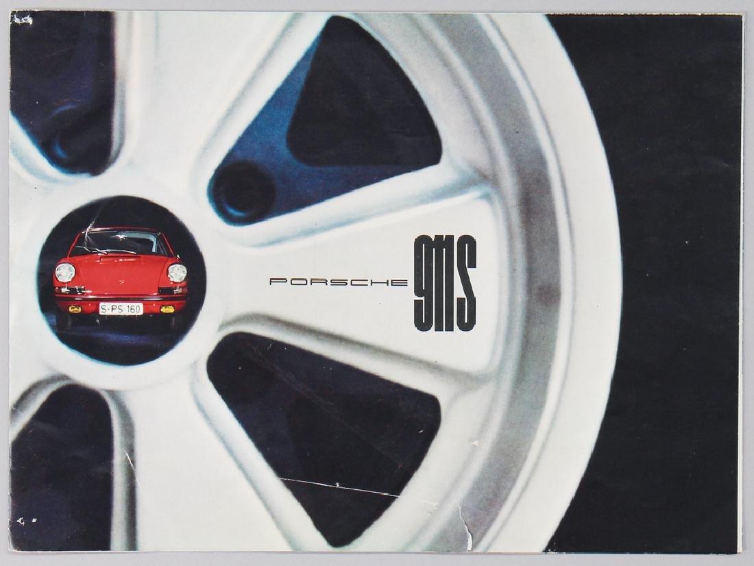 PORSCHE fold-out brochure Porsche 911 S from 1966, 12