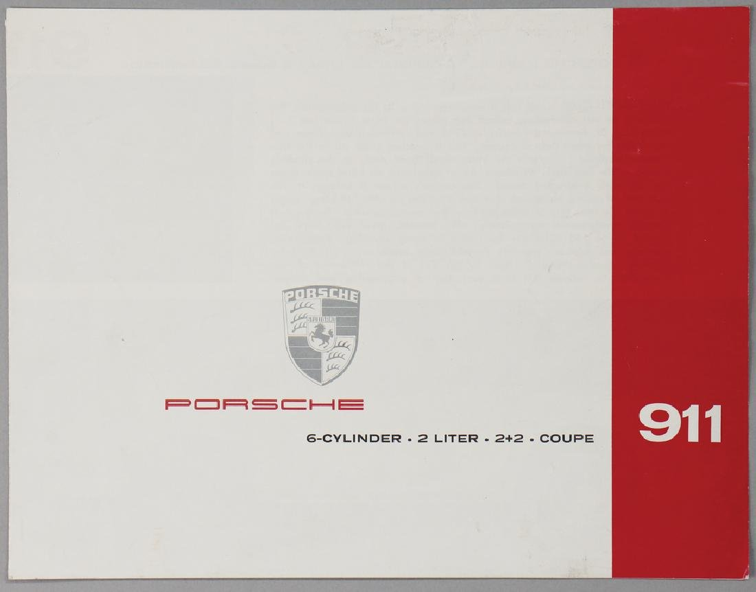 PORSCHE brochure/technical data, Porsche 911