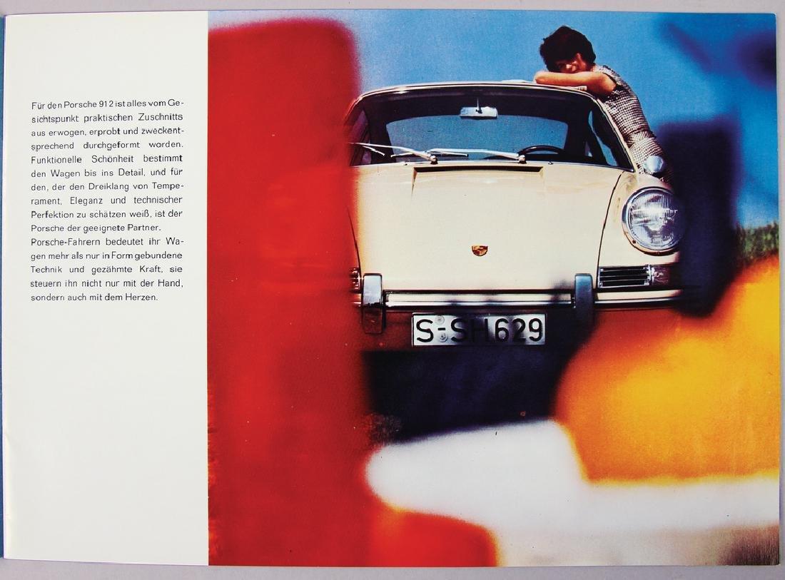PORSCHE Germany 1965 sales catalog Porsche 912, small