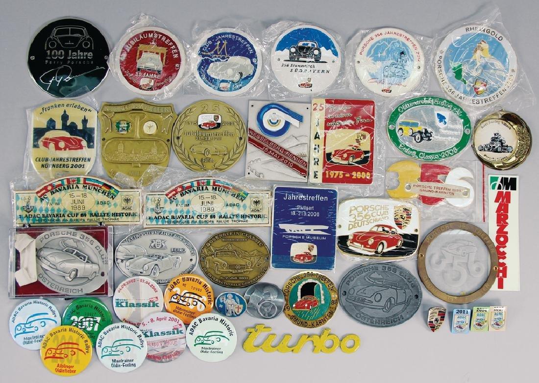 PORSCHE mixed lot, more than 40 pieces,