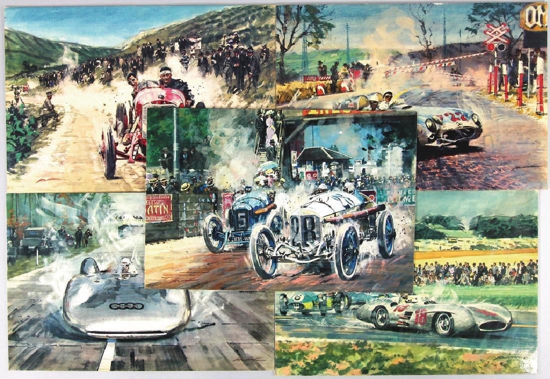 WALTER GOTTSCHKE mixed lot with 5 art printings,