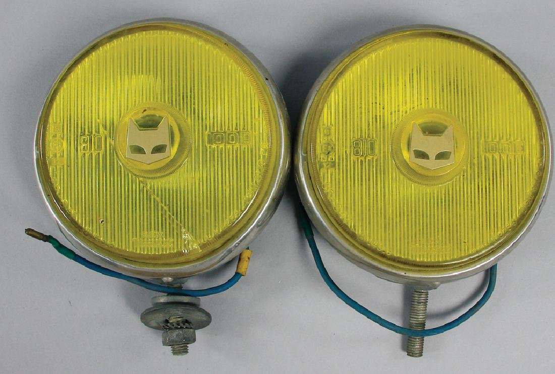 MARCHAL fog lamps c. '60s, with a diameter of 15 cm, 1