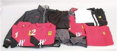 FERRARI mixed lot with 9 pieces, Ferrari clothes,