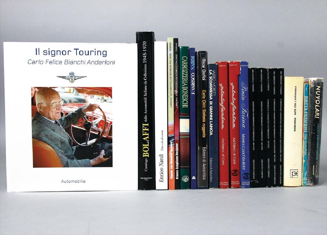 "mixed lot with 20 books, among others ""Enrico Nardi una"
