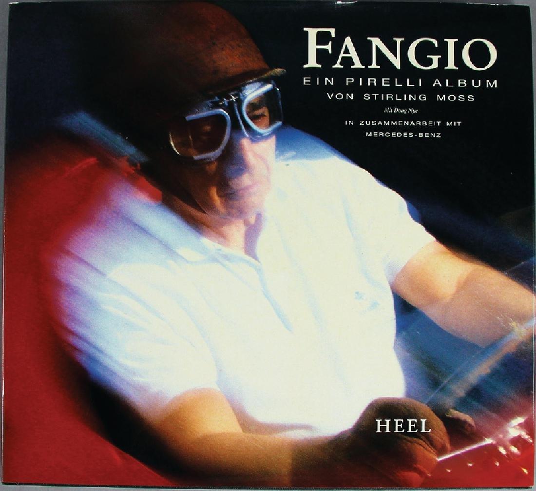 """book """"Fangio, ein Pirelli Album"""", by Stirling Moss"""