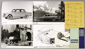 FIAT mixed lot of 5 BW photos Fiat 2300 mainly 18 x 24