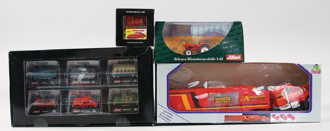 big mixed lot of model cars, among it model Piccolo