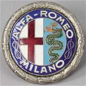 ALFA ROMEO radiator emblem/logo Alfa Romeo with two