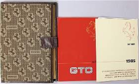 FERRARI owner's folder for Ferrari 288 GTO, in it an
